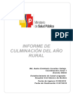 Informe Rural Audra Cevallos