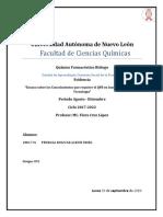 Conocimientos que requiere el QFB en Innovacion, ciencia y tecnologia