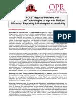 Oregon POLST Registry + Beyond Lucid Technology Announcement (9-30-2019)