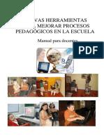 NUEVAS_HERRAMIENTAS Para Mejorar Procesos Pedagogicos en La Escuela