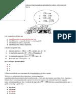 Simulado Mtm 9º Ano Hc- Pedro Jorge