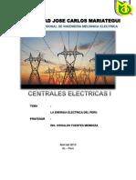 Centrales La Energia en El Peru