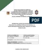 Informe Final Practicas Profesionales Oscar Suarez... 10.07.2019...