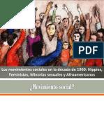 Movimientos Sociales 1960