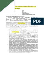 Modelo Escrito Detenciones Arbitrarias en Manifestaciones Publicas - Pedido Habeas Corpus