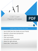 A1 ‐ CGEIT Exam Passing Principles
