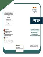Triage Service Leaflet Jan 18