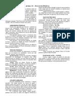 10- Habilidades - Aventureiro - Focos Em Perícia