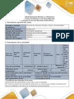 Guía Para La Descripción de Un Ecosistema Comunicativo