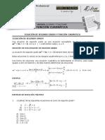 101-PMA-28 Función Cuadrática (7%)