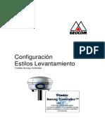 Configuracion-Trimble-Survey-Controller- la forma de utilizar los 4 metodos usando GPS receptor  .docx