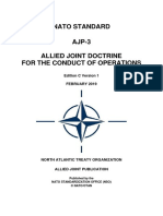 Doctrine Nato Conduct of Ops Ajp 3