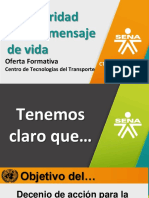 Sena y La Seg Vial 2018