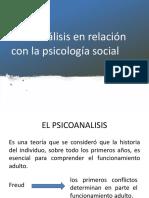 Psicoanálisis en La Psicologia Social