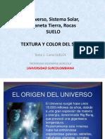 Tema 1 - Universo, Tierra