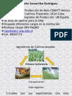A-Primera Conferencia Agrotecnia de Cultivos Anuales-2017