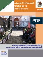 Conducta profesional de intérpretes México