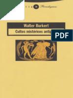Cultos Mistéricos Antiguos - Walter Burkert