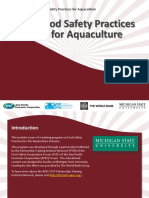 Aquaculture 2-Food Safety Hazards