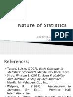 1. Nature of Statistics W1 (1)