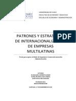Patrones y Estrategias de Internacionali