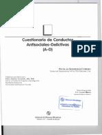 Mp Cuestionario de Conductas Antisociale