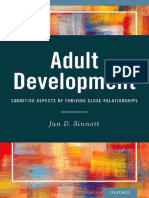 Adult Development Cognitive Aspects of Thriving Close Relationships