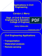 Application of GIS in Civil Engineering - Carolyn J. Merry