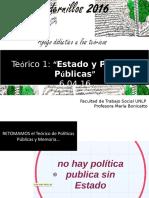 Teorico Nro 2 Estado y Politicas Publicas