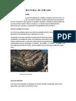Geología Estructural de Cercado
