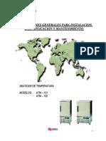 Abatidor ATM101 Manual de Operacion