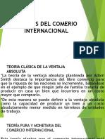 Teorías Del Comerio Internacional