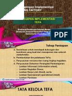 2. Tahapan Implementasi TeFa