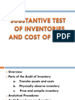 audit in inventories