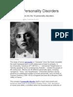 Ten Personality Disorders_Neel Burton MD