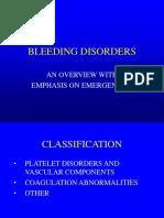 Disorders of hemostasis - Dr. Bishop.ppt