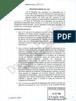 Moción de censura contra el presidente Martín Vizcarra