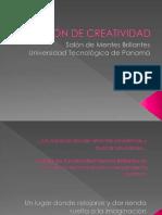 SALÓN DE CREATIVIDAD PRESENTACIÓN