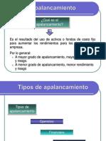 Apalancam Operativo y F.