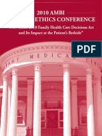 Ethics conference at Albany Med