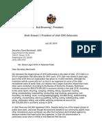 Bernhardt Letter ATV Determination Final