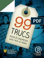 99 trucs pour economiser