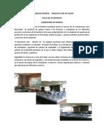Brochure laboratorio de quimica