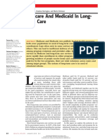 Medicaid in Long Term Care