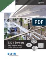 Eaton 230V Motion Sensor