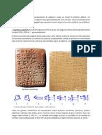 Cuaderno 1 - La Escritura Cuneiforme