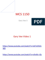 mcs 1150 video comprehension gary vee 3