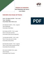 Trezena de São Francisco de Paula -  Calendário Geral da Liturgia