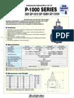 Yoshitake CI Steam PRV 10K FE GP-1000 -1