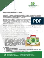 Presentación y Portafolio Ecomasilla S.a.S